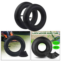 Pair Of 15x6.00-6 Tire Inner Tube For Tr13 Lawn Mower Snow Blower Durable