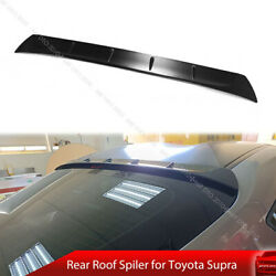 Fit For 2019-on Toyota Gr Supra J29 Coupe Rear Roof Window Spoiler Unpainted
