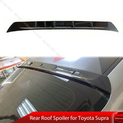 Fit For 19-on Toyota Gr Supra J29 Coupe Rear Roof Window Spoiler Painted 475