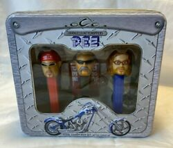 2006 Pez Occ Orange County Choppers Limited Edition Collector's Tin Gift Set New