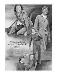 Us Army Air Corps - Ww2 Wasp Poster 16x21 Print