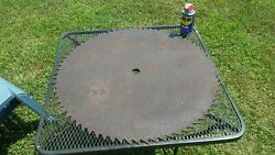 Vintage Sawmill Saw Blade 29.5 Inches