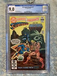 Dc Comics Presents 47 Cgc 9.0 1982 Dc 1st Appearance He-man And Skeletor Key