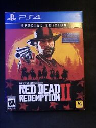 Red Dead Redemption Ii Special Edition Playstation 4 Day 1 1st Print  Ps4