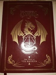 Critical Role The Chronicles Of Exandria Vox Machina Vol 1 Deluxe Edition