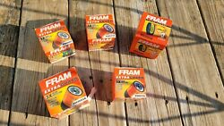Fram Ph9715, Ph3593a, Ph6607 Extra Guard Engine Oil Filters 5 Total