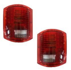 National Sea View 1998 1999 2000 2001 Led Taillights Tail Lights Lamps Rv Pair
