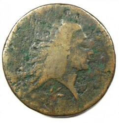 1793 Flowing Hair Wreath Large Cent 1c - Good Details - Rare Coin