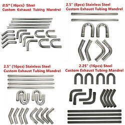 2.5and039and039/2.25and039and039 Mild/stainless Exhaust Tubing Mandrel Bend Pipe Straightandu-bend Kit