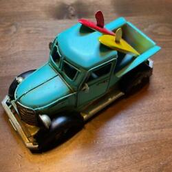 Made Of Tin Stylish Classic Car For Displays