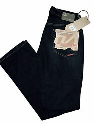 Jeans Pants Man Woman Vitamin Black Deluxe Basic Stretch Pu27
