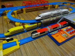 There Is Dirt Stain Plarail Layout Set Big Dome Station Dr. Yellow Nex Series