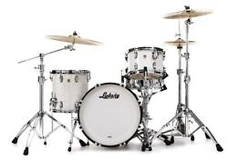 Ludwig Classic Maple Downbeat 20 3-piece Shell Pack - White Marine Pearl