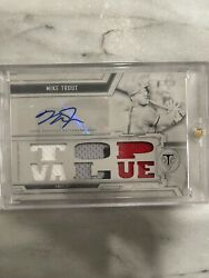 2020 Topps Triple Threads Mike Trout 1/1 White Whale Auto