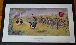 Dale Gallon - Remember Old Virginia - Mint - Collectible Civil War Print