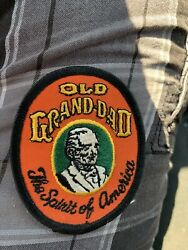 Old Grand Dad Bourbon Whiskey Vintage New Patch For Hat Shirt Vest Unused
