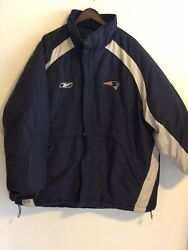 New England Patriots Official Nfl Team Apparel On Field Down Jacket. 2xl
