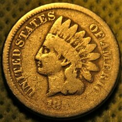 1859 Indian Head Cent. Great Type Coin