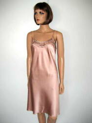 Marjolaine Nuisette Rose Taille 36 Levana 98 Soie Pink Babydoll Size Xs