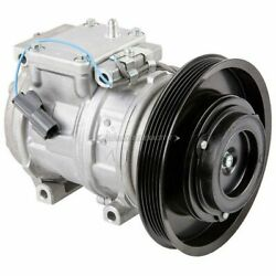 For Honda Accord 1990 1992 1993 Oem Ac Compressor And A/c Clutch Csw