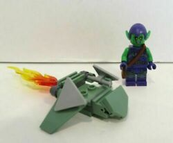 Lego Green Goblin Minifigure And Glider Daily Bugle Only 76178 New