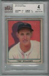 1941 Play Ball Ted Williams 14 Vg-ex 4