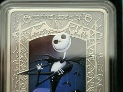 The Nightmare Before Christmas - Jack Skellington 1 Oz Silver Coin 2 Niue Mint