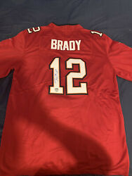 Tampa Bay Buccaneers Signed Authentic Tom Brady Small Jersey