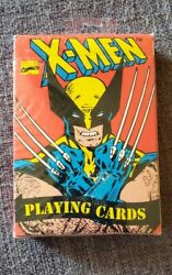 Vintage Collectable 1993 X-men Playing Cards Factory Sealed Made In The Usa.