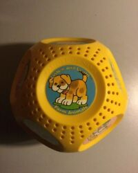 Vintage Texas Instruments Listen And Learn Farm Animals Musical Ball Toy 1988