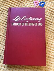 Rare Vintage , Watchtower And Track Society , Life Everlasting 1966