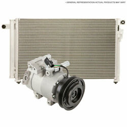 For Acura Nsx 1991-2005 Ac Compressor W/ A/c Condenser And Drier Csw