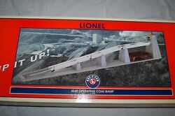 Lionel 456r Operating Coal Ramp With Coal And Controller 6-14005 O Scale Nib