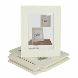 Wallniture Craft Picture Frames 5x7 Unfinished Wood For Kids Arts And Crafts ...