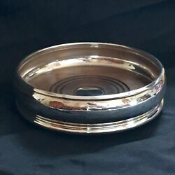 1992 D R And S London Sterling Silver Bottle Coaster