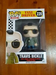 Travis Bickle Authentic Taxi Driver Funko Pop Movies  With Hard Stack