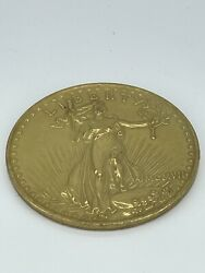 Us 1907 20 Dollars Liberty Coin Coin Not Gold Large Novelty