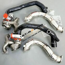 Td04l 16t Twin Turbos+2'' Inlets+3'' Catless Downpipes For Bmw 135i 335i 3.0l