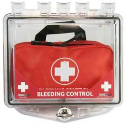 Polycarbonate Wall Mount Cabinet For Bleeding Control Kits, Small