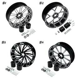 18'' X 5.5'' Rear Wheel Rim W/ Hubs Fit For Harley Touring Street Glide 08-21 20