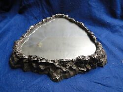 Silver Plated Wedding Cake Stand, Antique Victorian 1860,triangular, Marked,