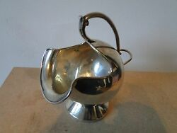 Sterling Silver Sugar Dish Made In Mexico Circa 1920 Nice Shape And Style