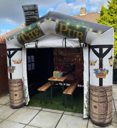 Inflatable Pub 9x9and039 Adult Garden Summer Free Delivery