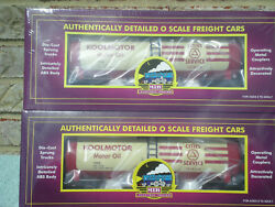 Sealed 2-pack Mth Premier Cities Service Koolmotor Tank Cars  New/mint