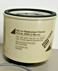 Racor Parker R24s Fuel Filter / Water Separator 2 Micron For 220 Series