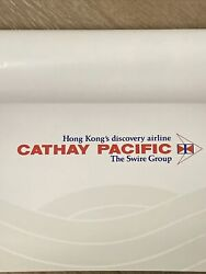 Original Vintage Cathay Pacific Hong Kongand039s Discovery Airline Poster 23 X 34.5