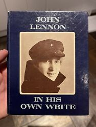 Signed Autographed Beatles John Lennon 1st Edition Book - Andldquoin His Own Writeandrdquo