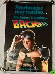Back To The Future Ii 1989 Teaser Poster Original Us 1 Sheet. 27 X 40 Inches