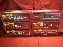 6 Swisher Sweets Cigar Boxes