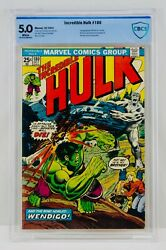 Hulk 180 Cbcs 5.0 White Pages First Wolverine Appearance 1st App Cameo Not Cgc